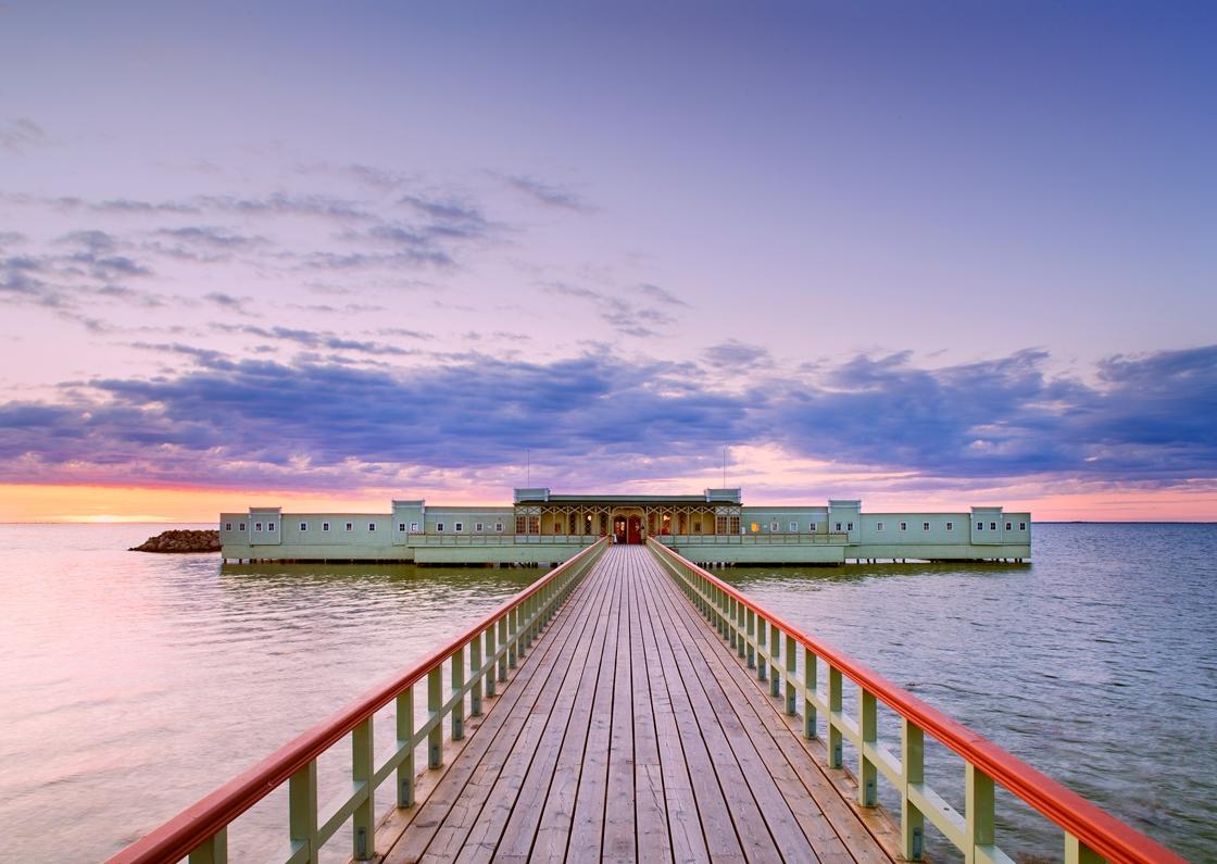 Beautiful Kallbadhuset Boardwalk