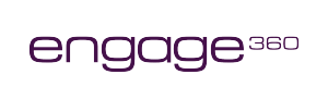 Purple Engage360 Logo