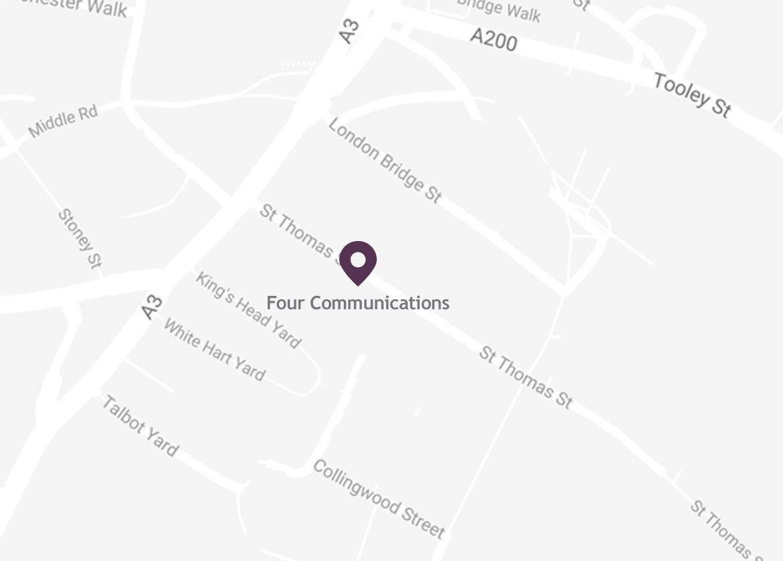 Map of Location in London Bridge