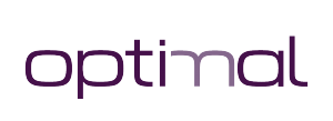 Optimal purple logo