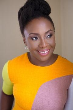 Chimamanda Ngozi Adichie smiling