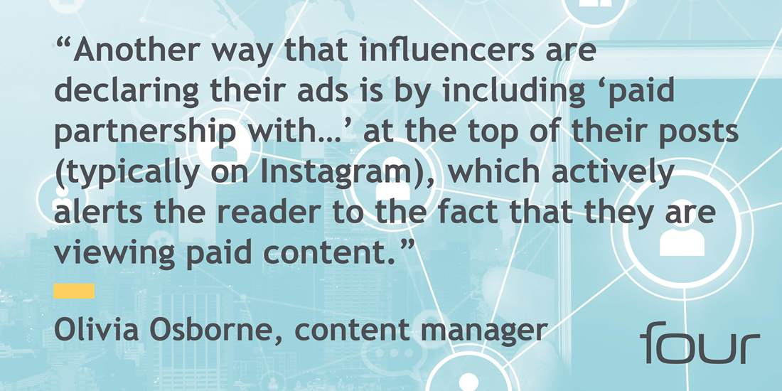 Olivia Osborne, content manager, quote