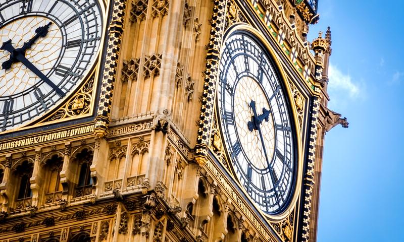 Close-up of Big Ben clock