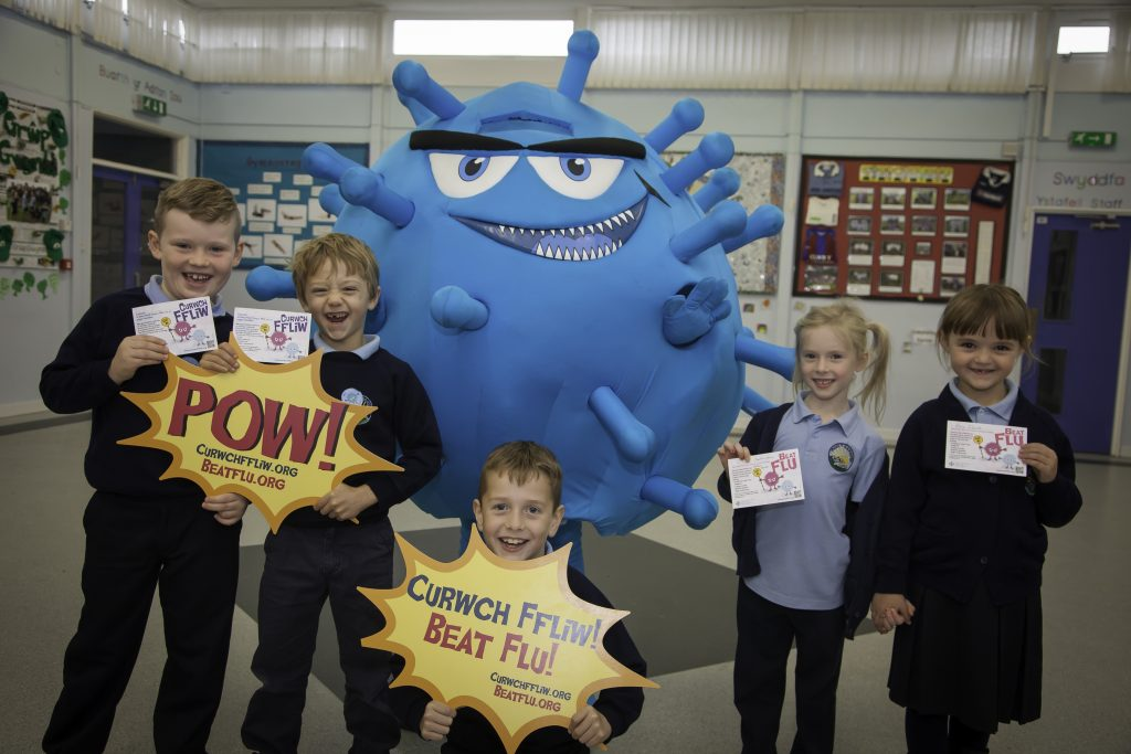Beat flu vaccination campaign primary school