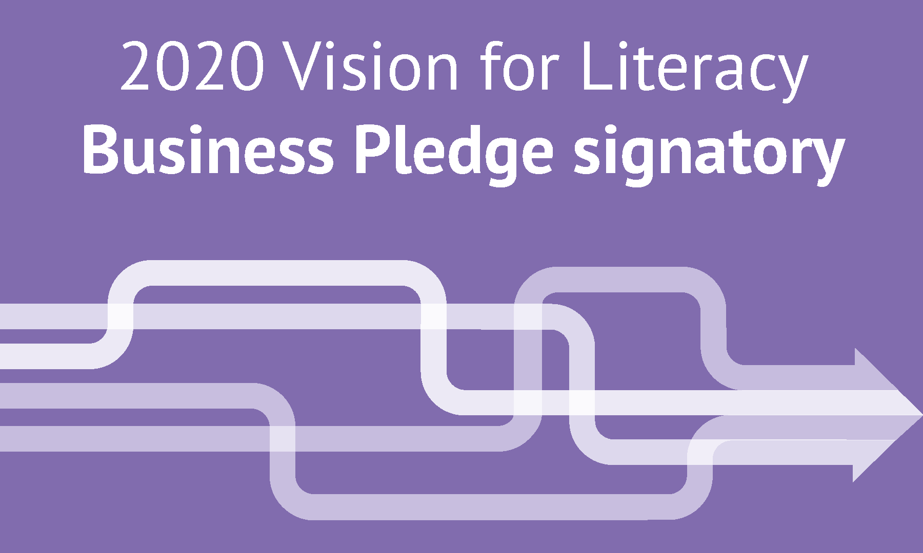 2020 Vision for Literacy Business Pledge