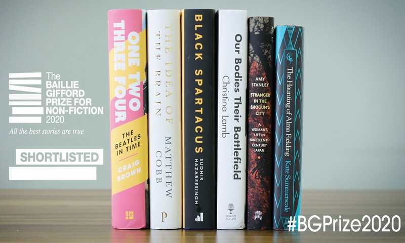 Baillie Gifford Prize for Non-fiction shortlist 2020