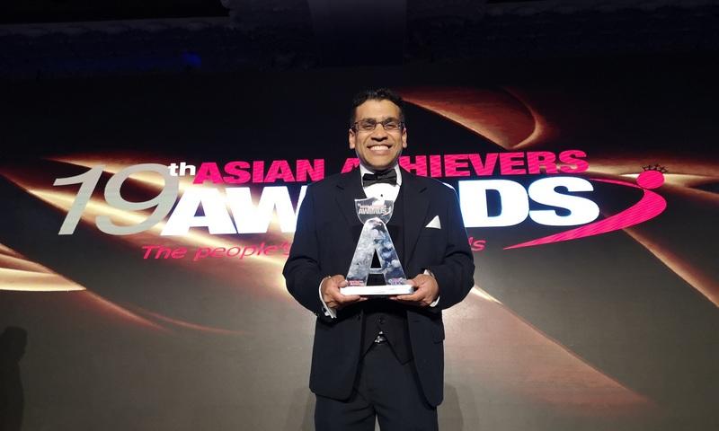 Kush Kanodia asian achievers awards